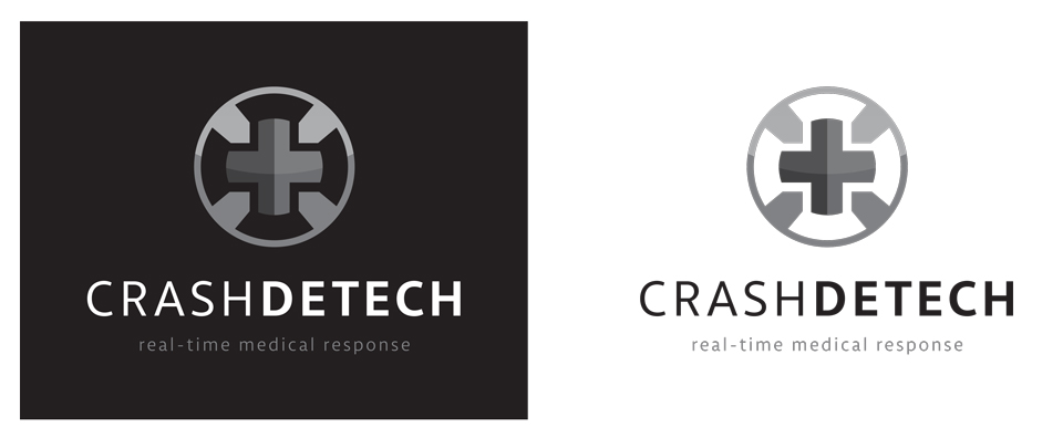 CrashDetech Logo Design