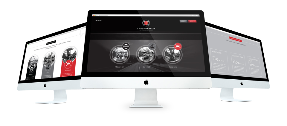 CrashDetech Website Design