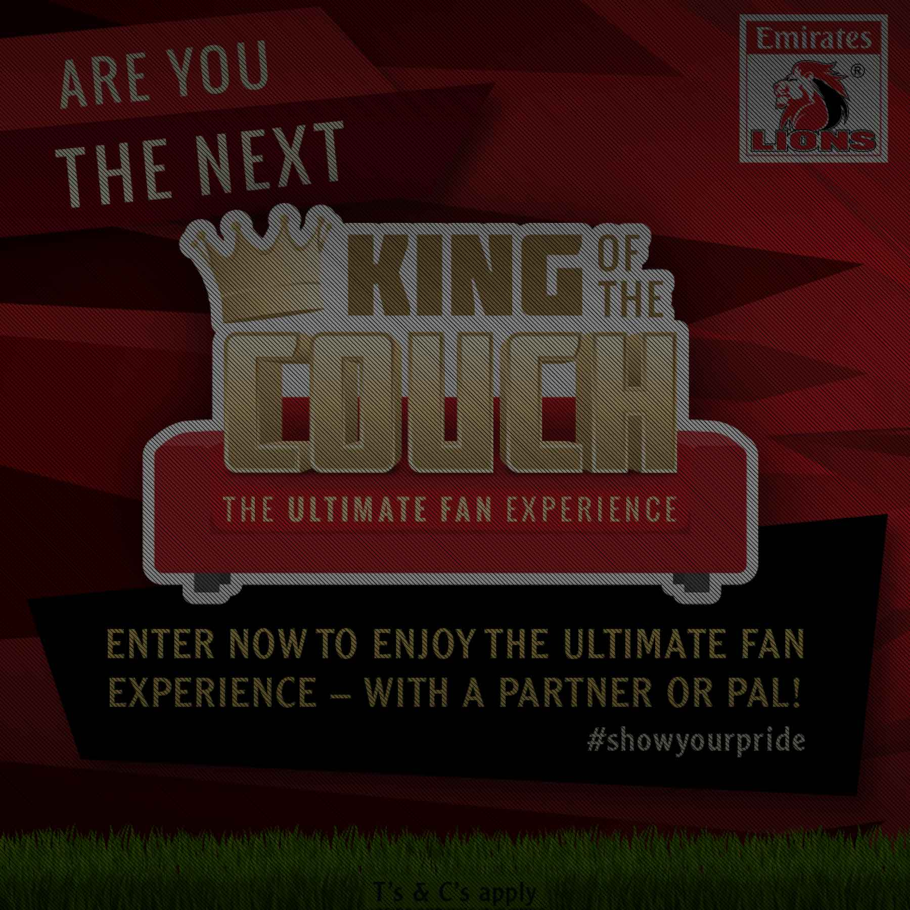 King of the Couch Advertising Campaign