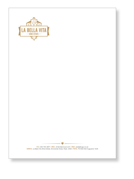 Logo and Corporate Stationery