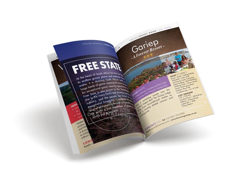 Forever Resorts Flyer Design