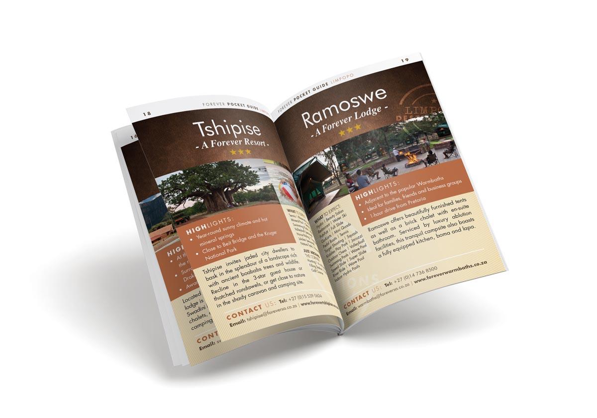 Forever Resorts Brochure Design